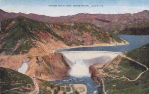 Arrow Rock Dam, Boise River, Idaho, PU-1949