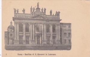 Italy Rome Basilica di San Giovanni in Laterano