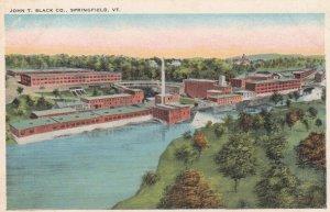 SPRINGFIELD , Vermont , 1910s ; John T. Slack Company