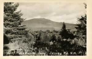 NH - Mt Monadnock  from Jaffrey Road