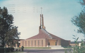 CHICOUTIMI, Quebec, Canada, PU-1986; Eglise St. Isidore, Riviere Du Moulin
