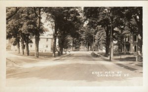 RP: CAVENDISH , Vermont, 1930-40s ; East Main Street