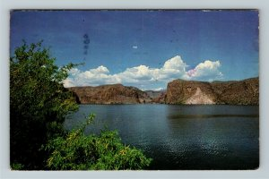 Tortilla Flats AZ- Arizona, Canyon Lake, Scenic Water Views,Chrome c1979Postcard