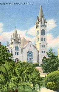 GA - Valdosta - First M. E. Church