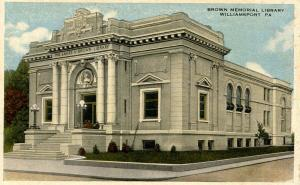 PA - Williamsport. Brown Memorial Library