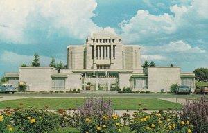 CARDSON , Alberta , Canada , 50-60s ; The Morman Temple