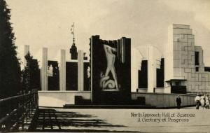 IL - Chicago. 1933 World's Fair-Century of Progress. Hall of Science, North A...