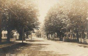 RP; HANCOOK , New Hampshire , 1910 ; Main Street