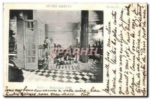 Musee Grevin Old Postcard Evening in malmaison 1800