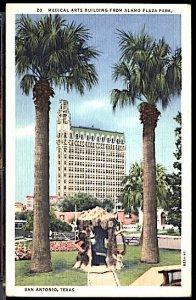 USA Postcard Medical Arts Building San Antonio Texas