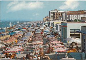 GATTEO MARE, Spiaggia, Sea-shore, used Postcard