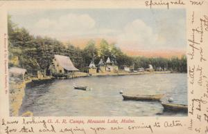 ACTON, Maine, PU-1906; G.A.R. Camps, Mousam Lake