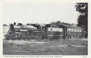 SANTA CLAUS , Indiana , 50-60s; Fairyland Miniature Train, Santa Claus Land