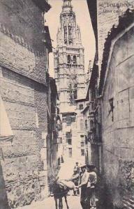 Spain Toledo Una Calle