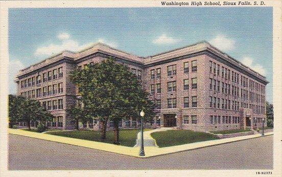 Washington High School Sioux Falls South Dakota Curteich