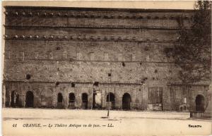 CPA ORANGE - Le Theatre Antique vu de la face (511791)