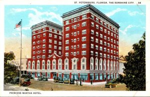 Florida St Petersburg The Princess Martha Hotel Curteich