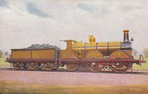 LB & SC Class B1 0-4-2 No 175 Hayling Built 1890 Ian Allen Train Postcard