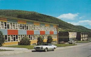 L' ecole St. Paul et l'ecole Superieure, The Schools, Murdochville, Quebec, C...