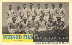 France, Soccer, Foot Ball, France Unused hard to see crease from top edge to ...