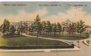 RICHMOND, Virginia, PU-1942 ; Virginia Union University, 1500 N. Lombardy St.
