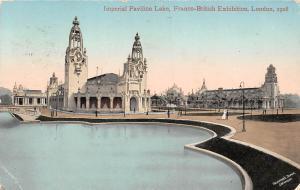 Franco-British Exhibition, Imperial Pavilion Lake, London 1908