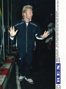 Boris Becker German Tennis Sports At London Auctions 2002 Press Photo
