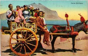 CPA Carro Siciliano . ITALY (495216)