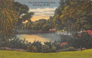Lake at Wheeling park, Wheeling, WV