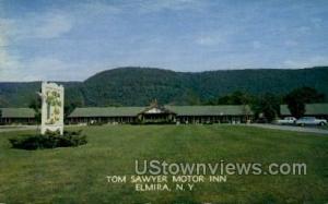 Tom Sawyer Motor Inn Elmira NY Unused