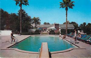 Pool Area, Arizona Ambassador Hotel, Phoenix, AZ, Arizona, Chrome