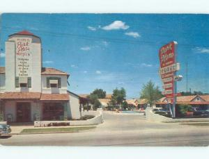 1950's PARK PLAZA MOTEL Ft. Fort Worth Texas TX W6147