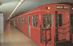 TORONTO , Ontario, Canada, 1950-60s ; Subway