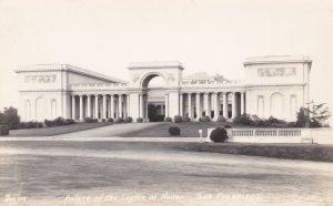 California San Francisco Palace Of The Legion Of Honor Real Photo