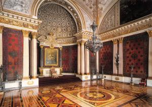 St Petersburg Russia Postcard, The Hermitage, The Hall of Peter The Great Y16
