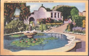 San Juan Capistrano CA Mission established 1776  1930/40s