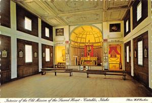 Old Mission of the Sacred Heart - Cataldo, Idaho