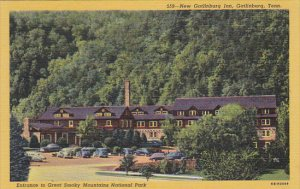 Tennessee Gatlinburg New Gatlinburg Inn Curteich