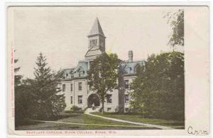 Bartlett Cottage Ripon College Ripon Wisconsin postcard