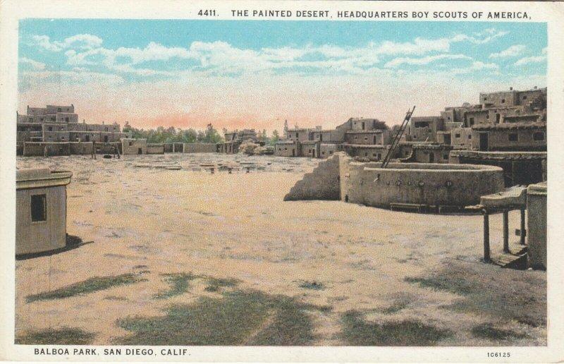 SAN DIEGO, California, 1900-10s ; Boy Scouts Headquarters, Balboa Park