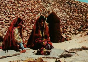 CPM Bedouine a la citerne TUNISIE (810343)