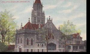 Pennsylvania Williamsport Pine Street M E Church 1912