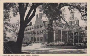 North Carolina Chapel Hill The Carolina Inn 1939