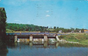 Dam , Lang Mill , Indian River , PETERBOROUGH , Ontario , Canada , PU-1964