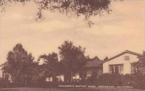 California Inglewood Childrens Baptist Home Artvue