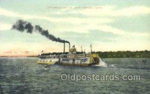 Ottumwa Belle Ferry Boats, Ship Unused