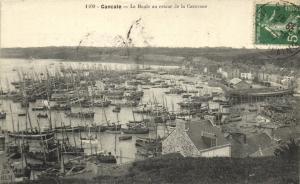 CPA CANCALE - La Houle au retour de la Caravane (112009)
