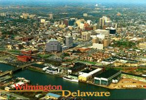 Delaware Wilmington Aerial View 1998