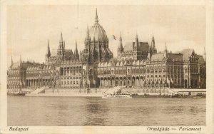 Carte postale Budapest Parlament latkep