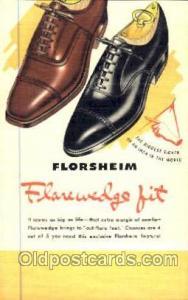 Florsheim Shoe Advertising Postcard Postcards Unused